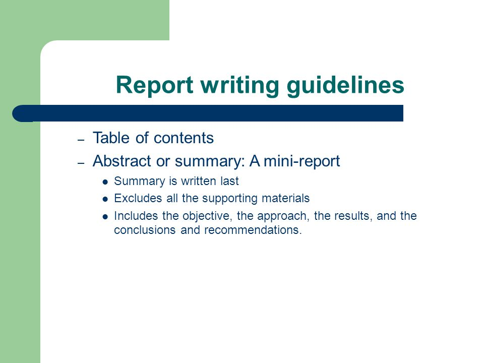 report writing three phases of report writing exploratory phase rh slideplayer com guidelines for report writing in research guidelines for effective report writing in research methodology