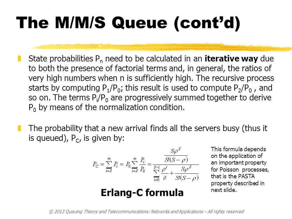 Lesson 6: Queues and Markov Chains - ppt download