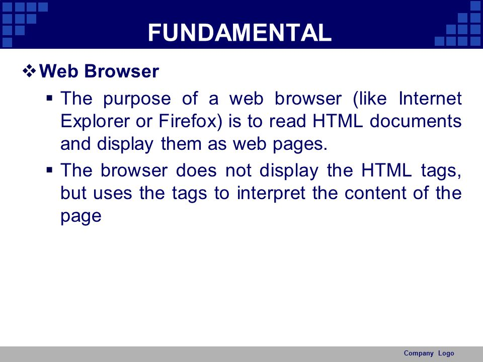 FUNDAMENTAL Web Browser