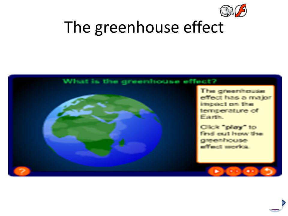 The greenhouse effect Teacher notes