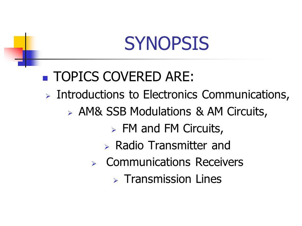 ELECTRONICS COMMUNICATIONS(EKT313) - ppt video online download
