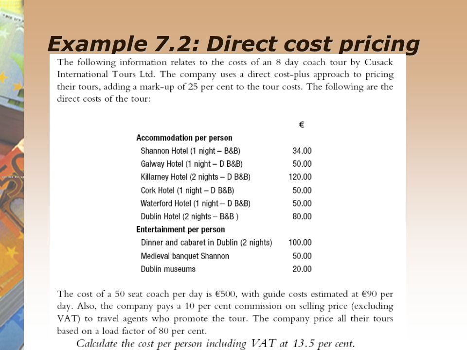 costing and pricing essay A good costing system gives the management of company correct information required for pricing of a product  the activity based costing accounting essay.