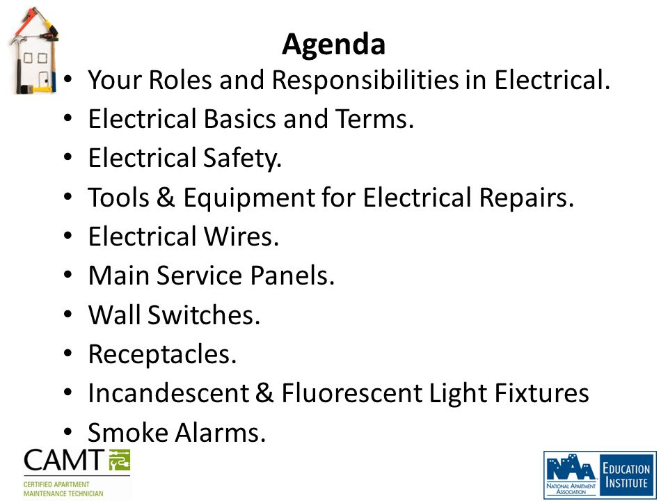 Welcome to: Electrical Repair & Maintenance Course - ppt