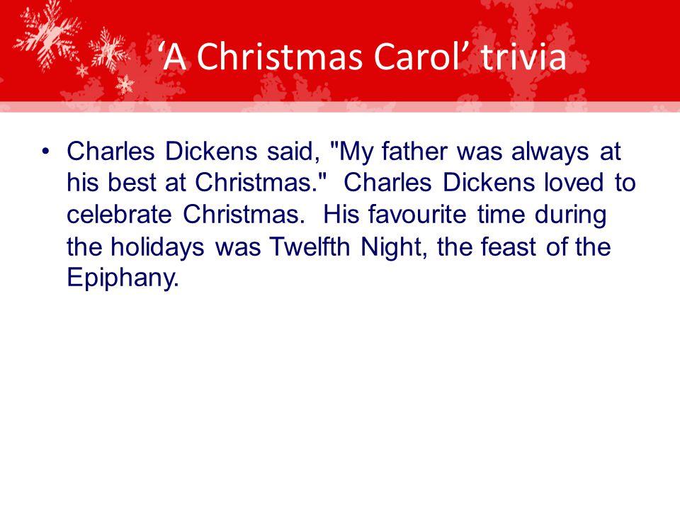 Christmas Carol Trivia.A Christmas Carol By Charles Dickens Ppt Video Online