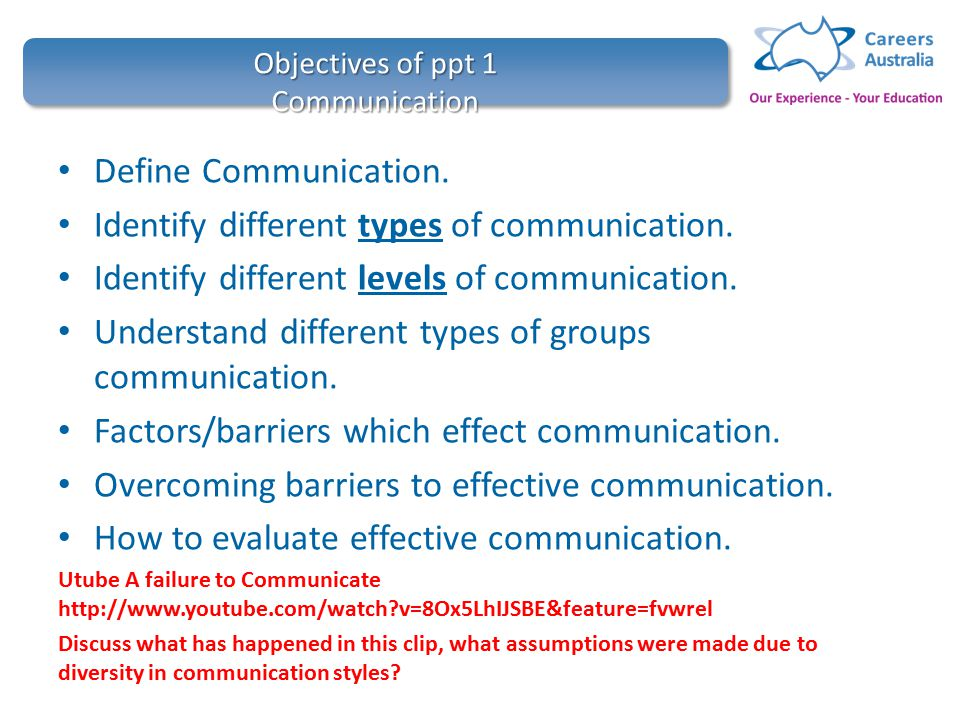 types of communication barriers ppt