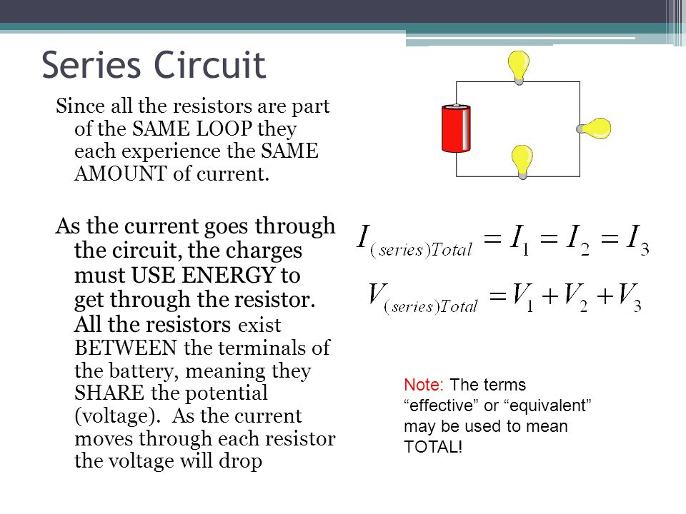 electric circuits ppt video online downloadSeries Circuits With The Same Resistors And The Same Battery Voltage #3