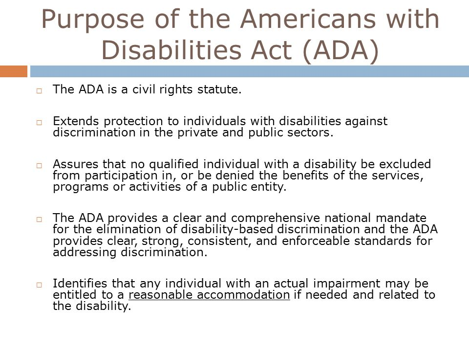 Reasonable Accommodations Extend To >> Elisabeth Werling M Ed Fall Ppt Video Online Download