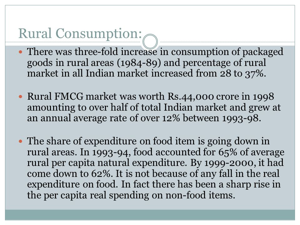 Indian Rural Market: A Brief Profile - ppt video online download