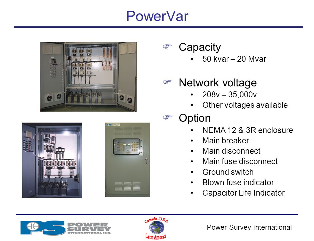 Power Survey Application Product Training Ppt Video Online Download Mediumvoltage Switchgear Switching Of Capacitors And Filter Circuits 30 Powervar