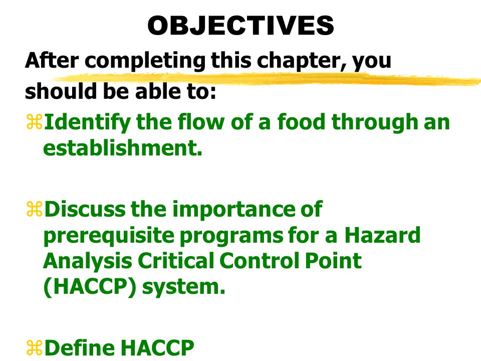 OBJECTIVES After completing this chapter, you should be able to: