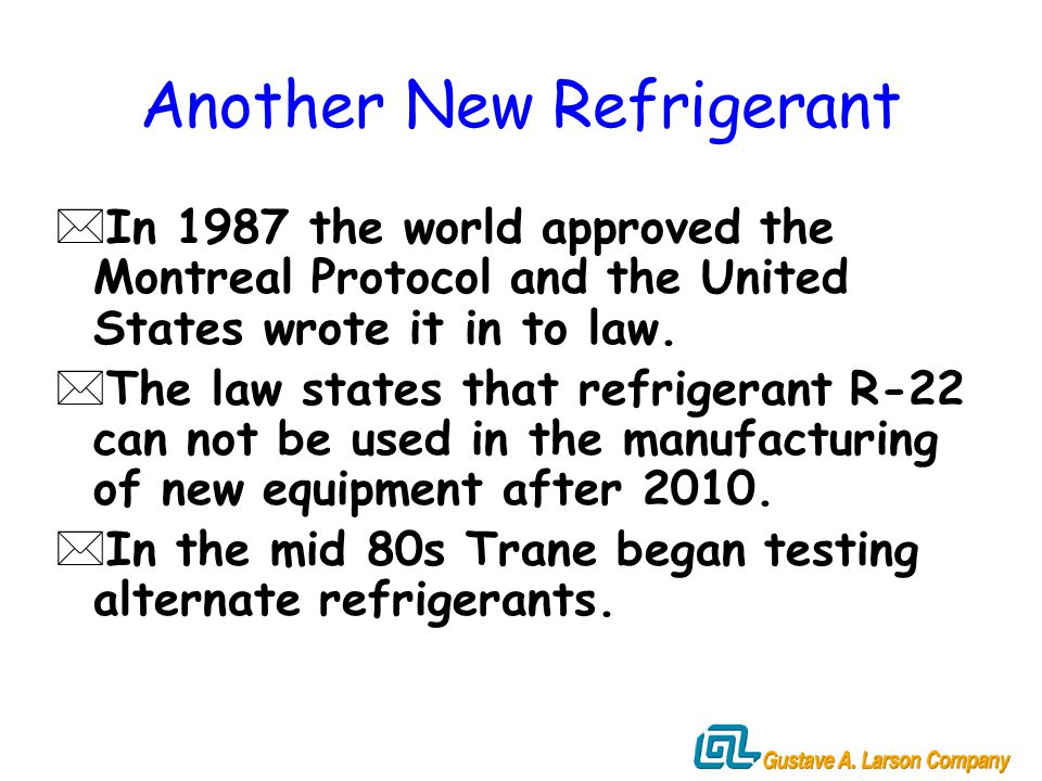 Refrigerant R-410A & R ppt download