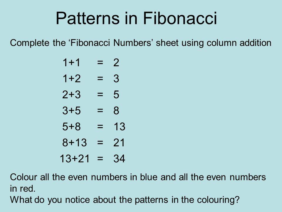 Fibonacci Numbers. - ppt download