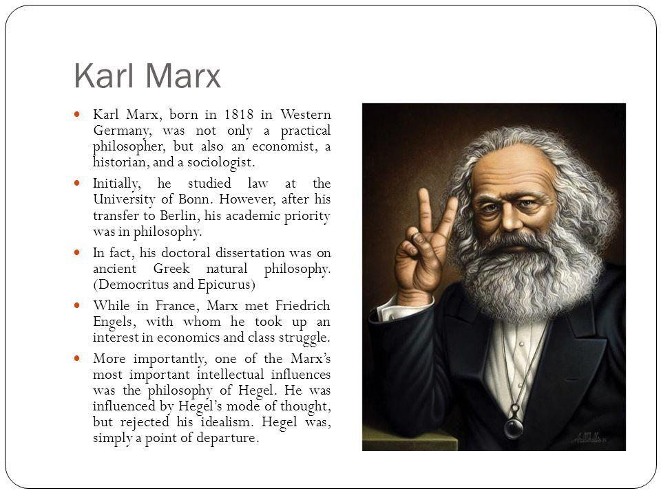 Marx és a marxizmus