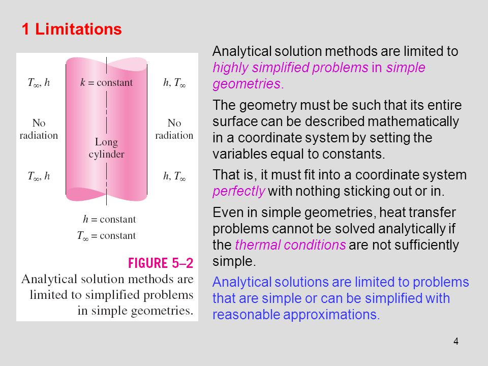 Chapter 5 NUMERICAL METHODS IN HEAT CONDUCTION - ppt video online
