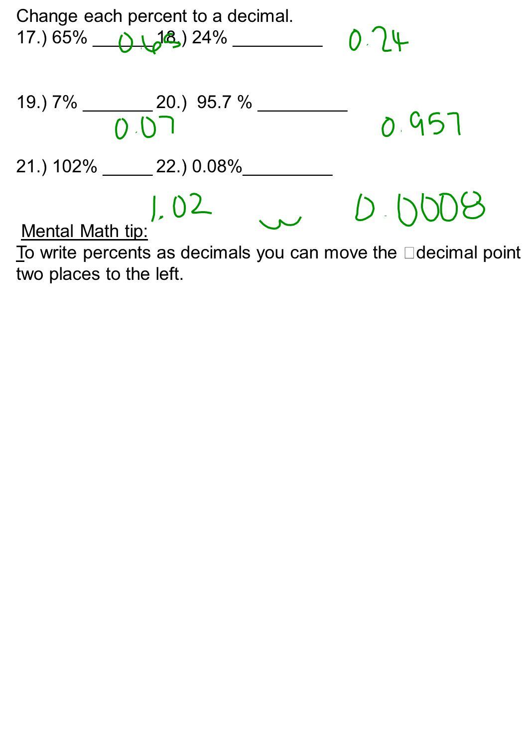 Help percentages homework