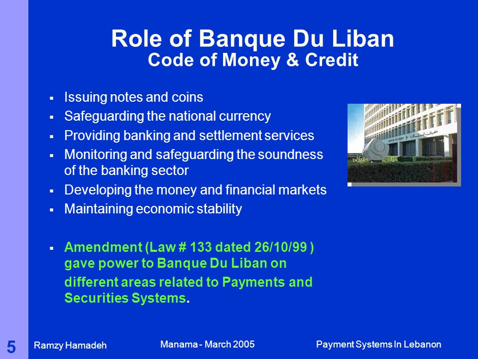 PAYMENT SYSTEMS IN LEBANON - ppt video online download