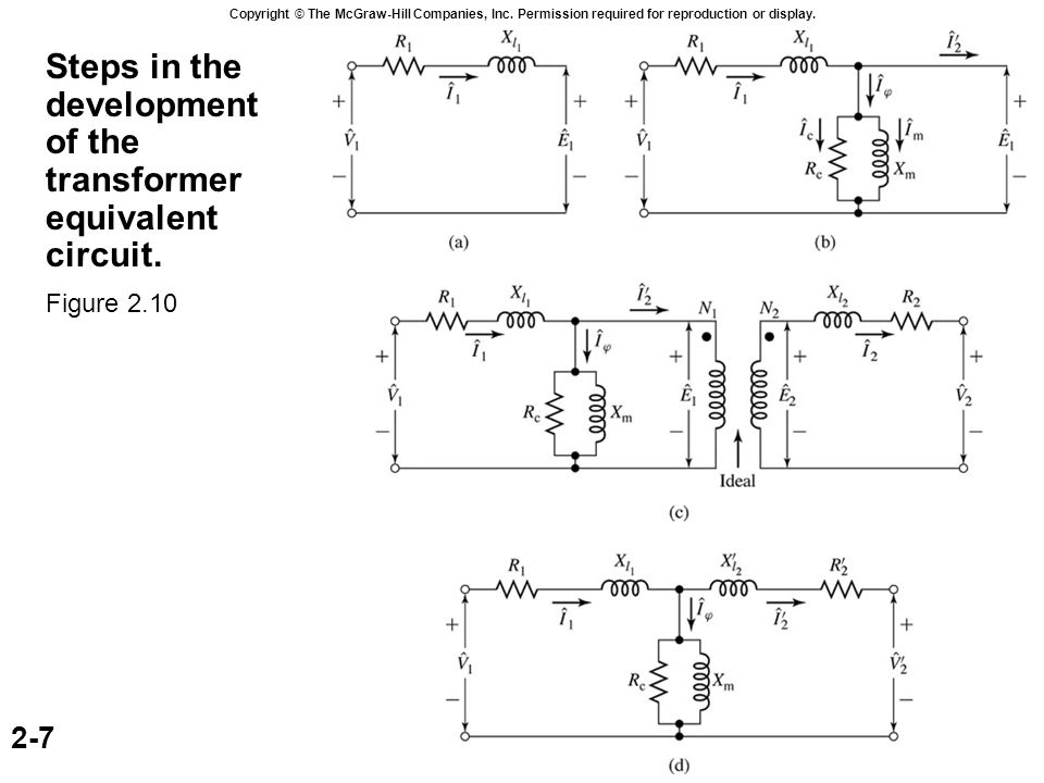 Transformer with open secondary  - ppt download