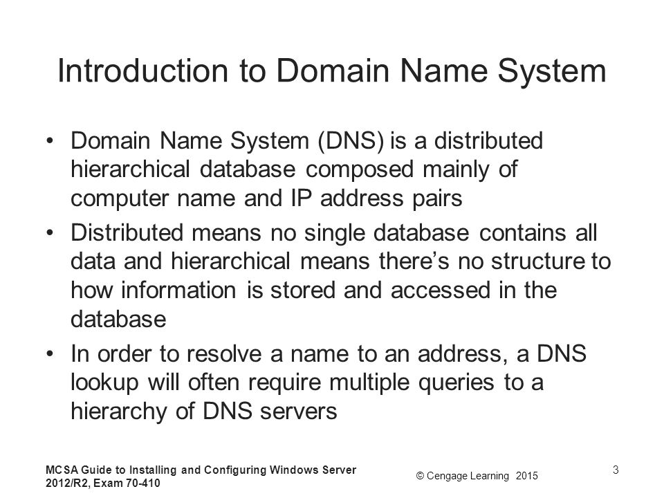 Introduction to Domain Name System