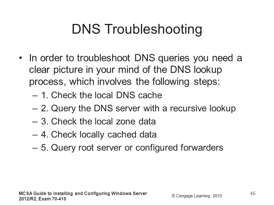 DNS Troubleshooting