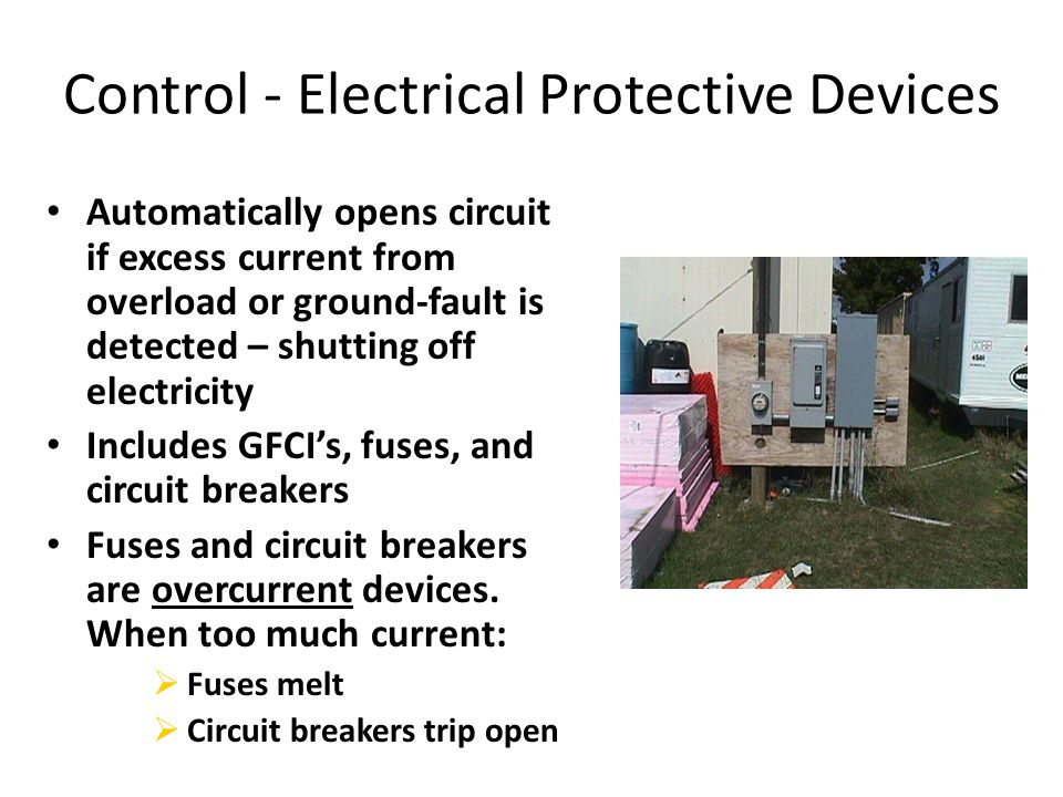Control - Electrical Protective Devices