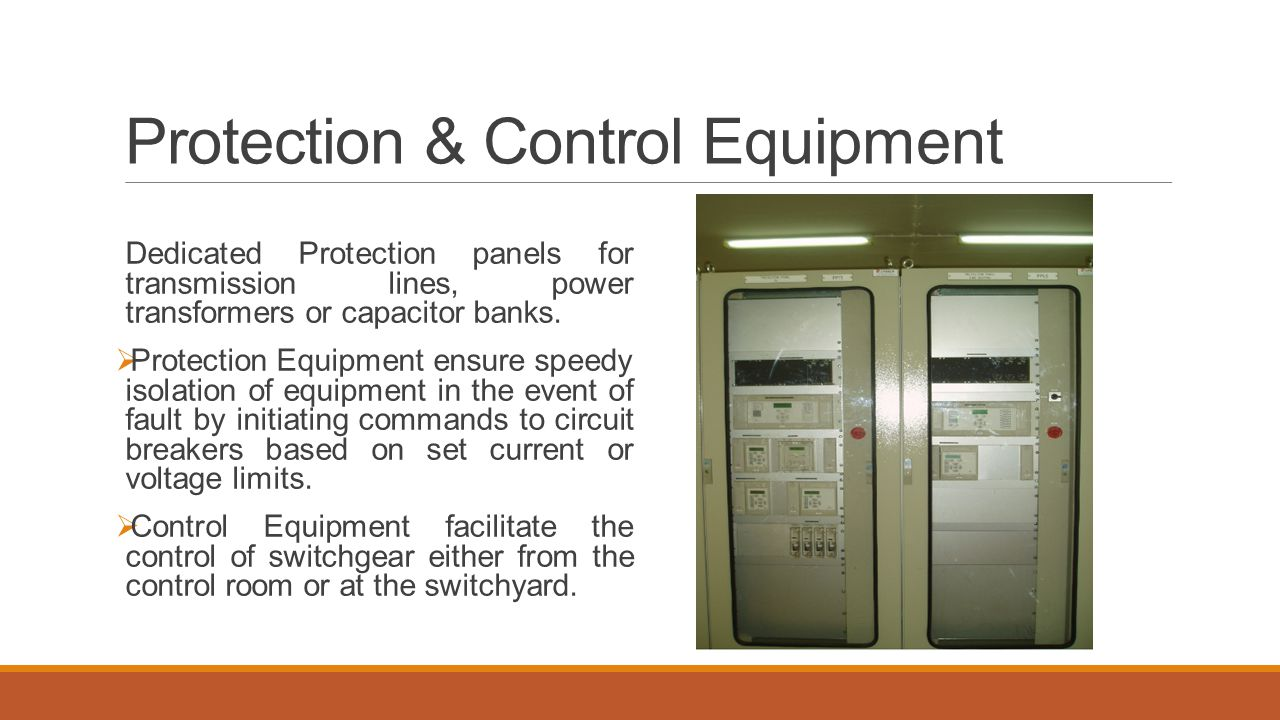Protection & Control Equipment