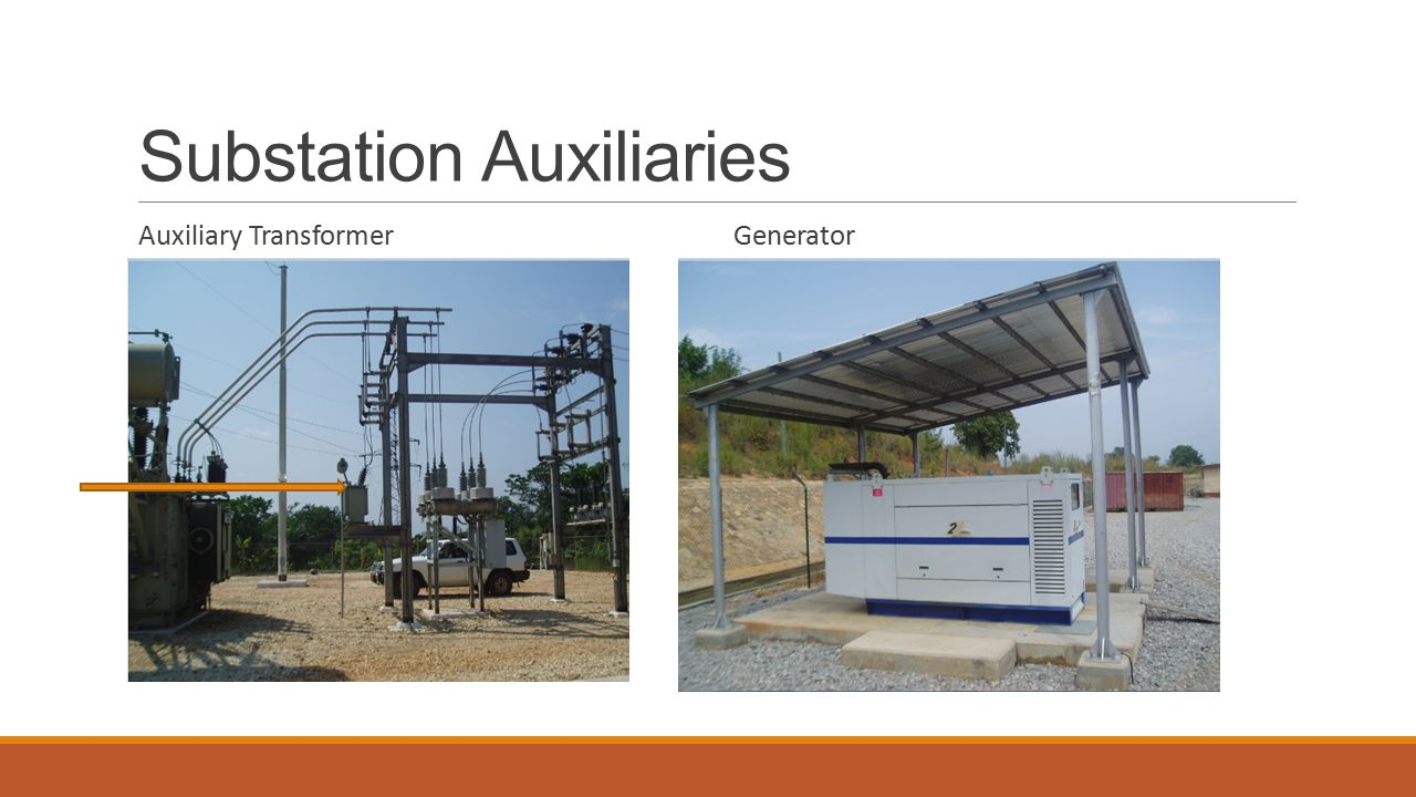 Substation Auxiliaries