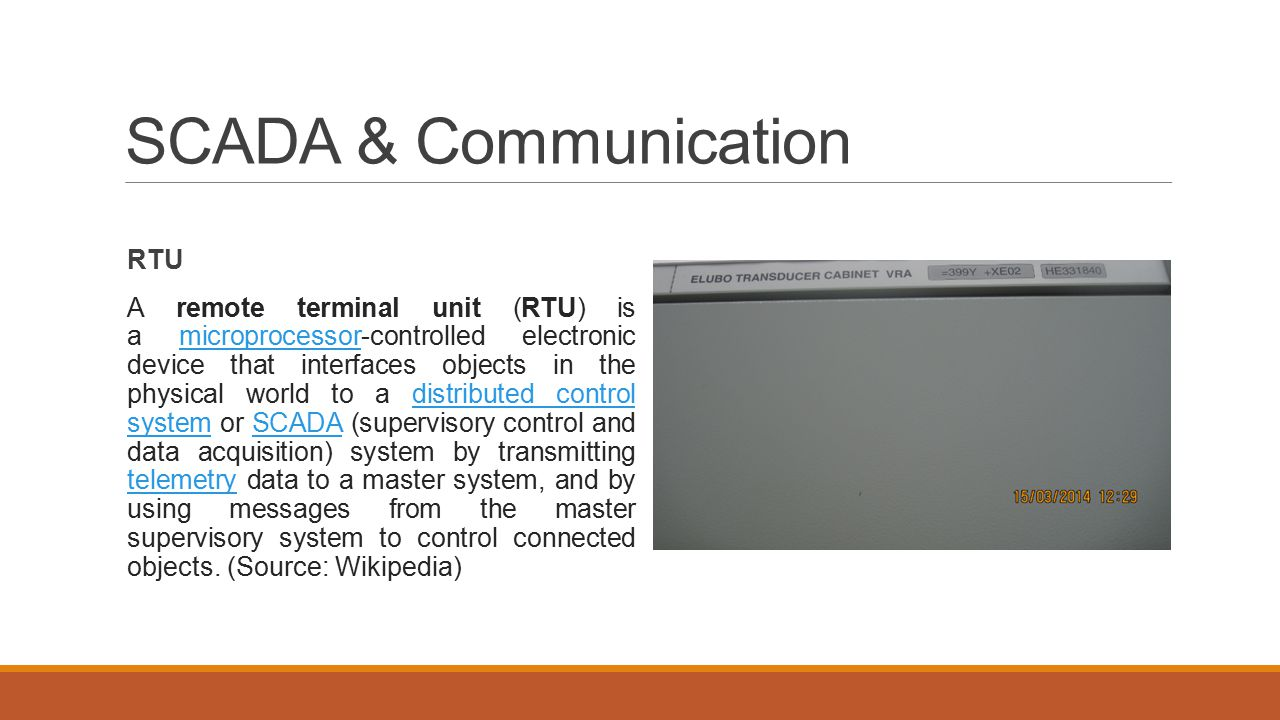 SCADA & Communication RTU