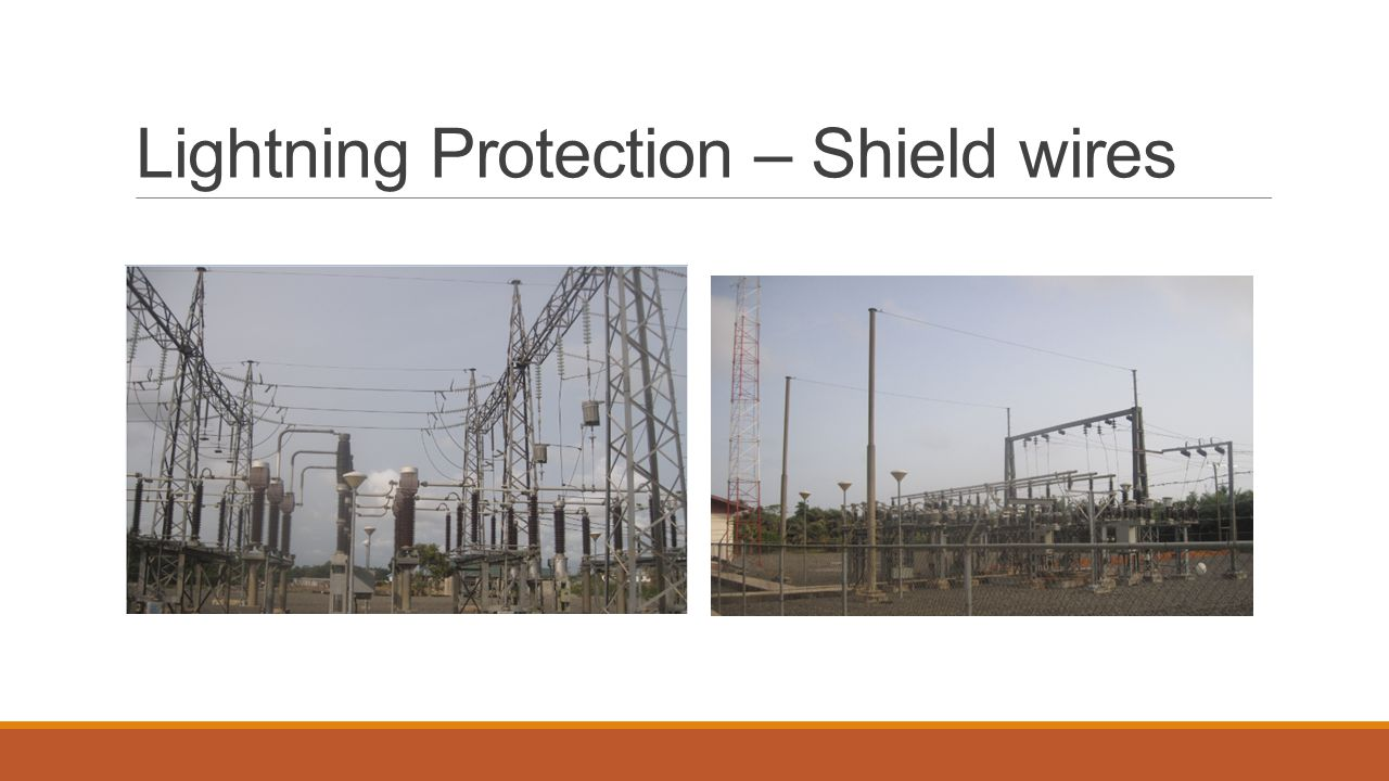 Lightning Protection – Shield wires