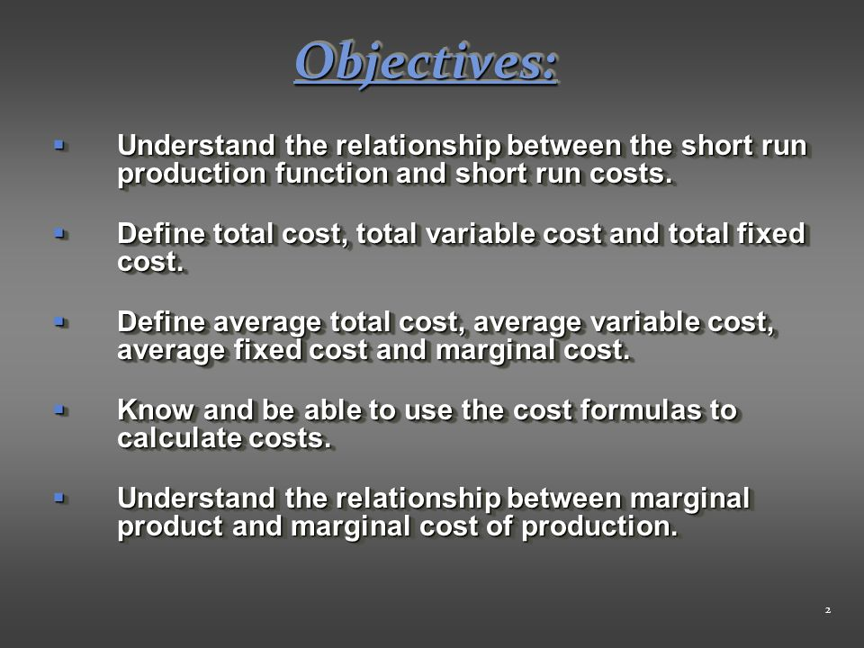 relationship between marginal cost and fixed cost