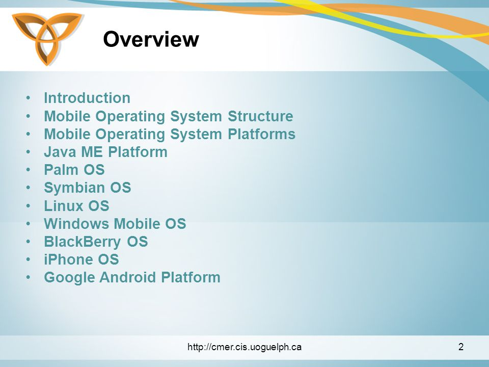 Mobile Operating Systems - ppt video online download