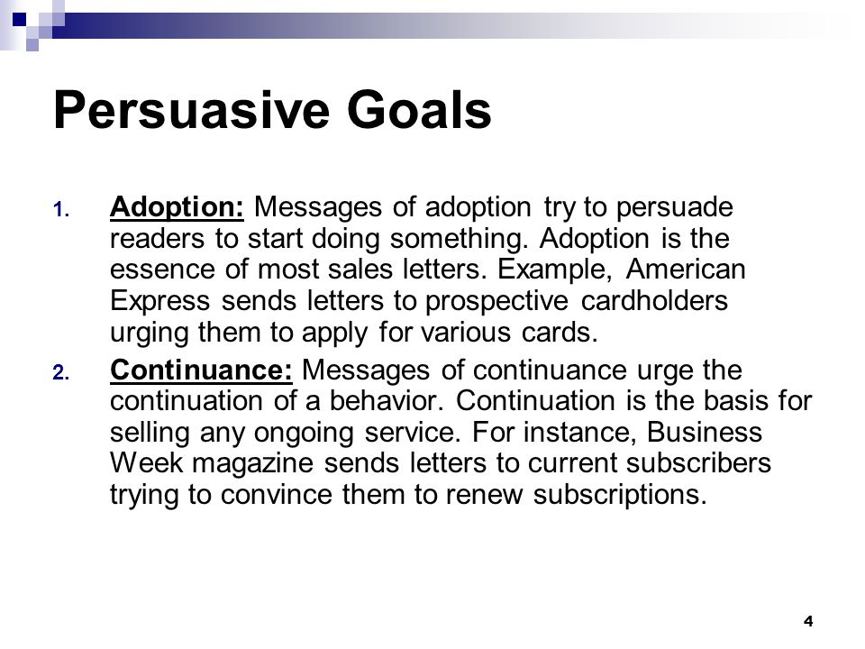 Business Persuasive Letter Example from slideplayer.com