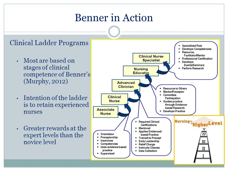 benner model of clinical competence