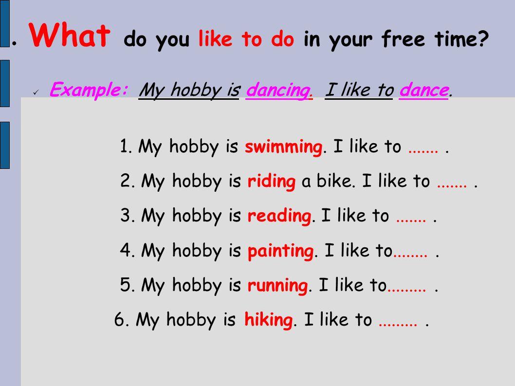 why do you like dancing