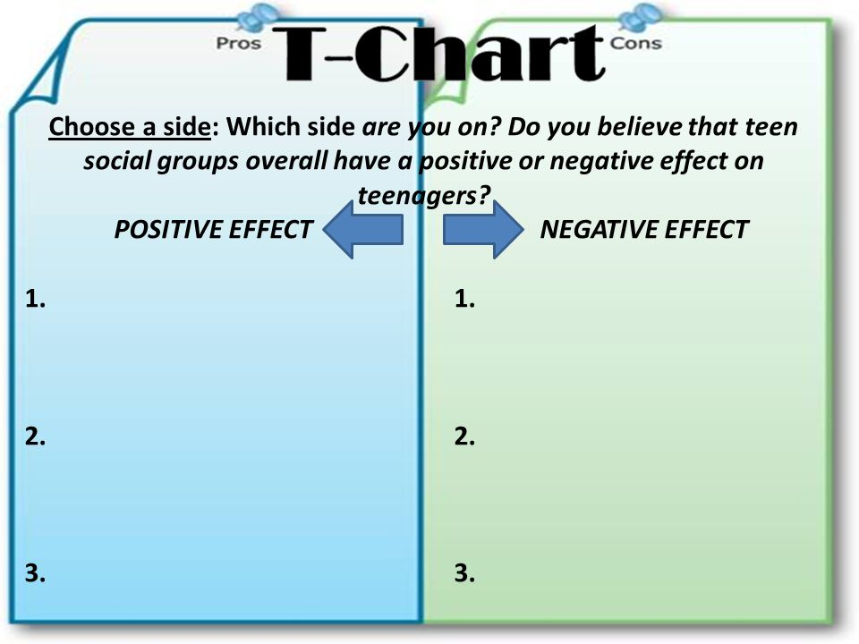 Persuasive Essay T Chart - Simple Instruction Guide Books •
