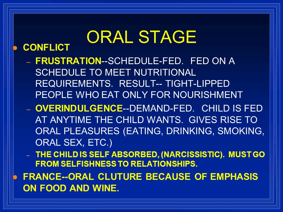 pyschosexual stages