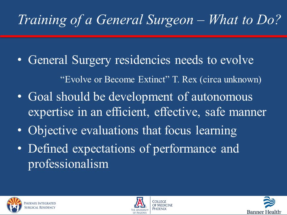 Training of a General Surgeon: Are we making the cut? - ppt