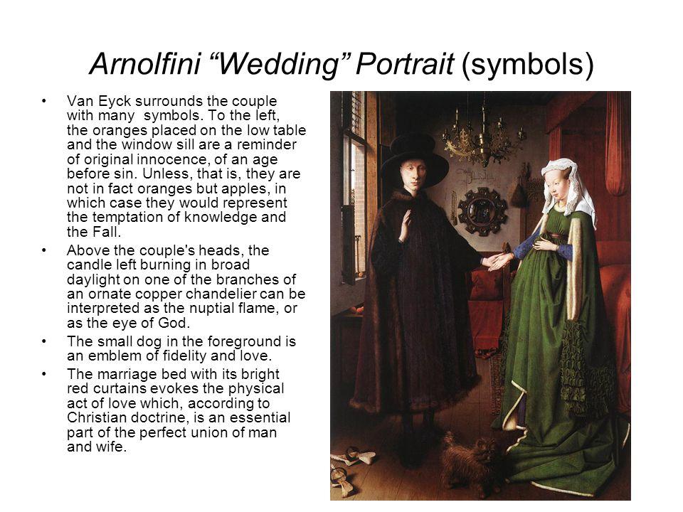 Arnolfini Portrait Symbols
