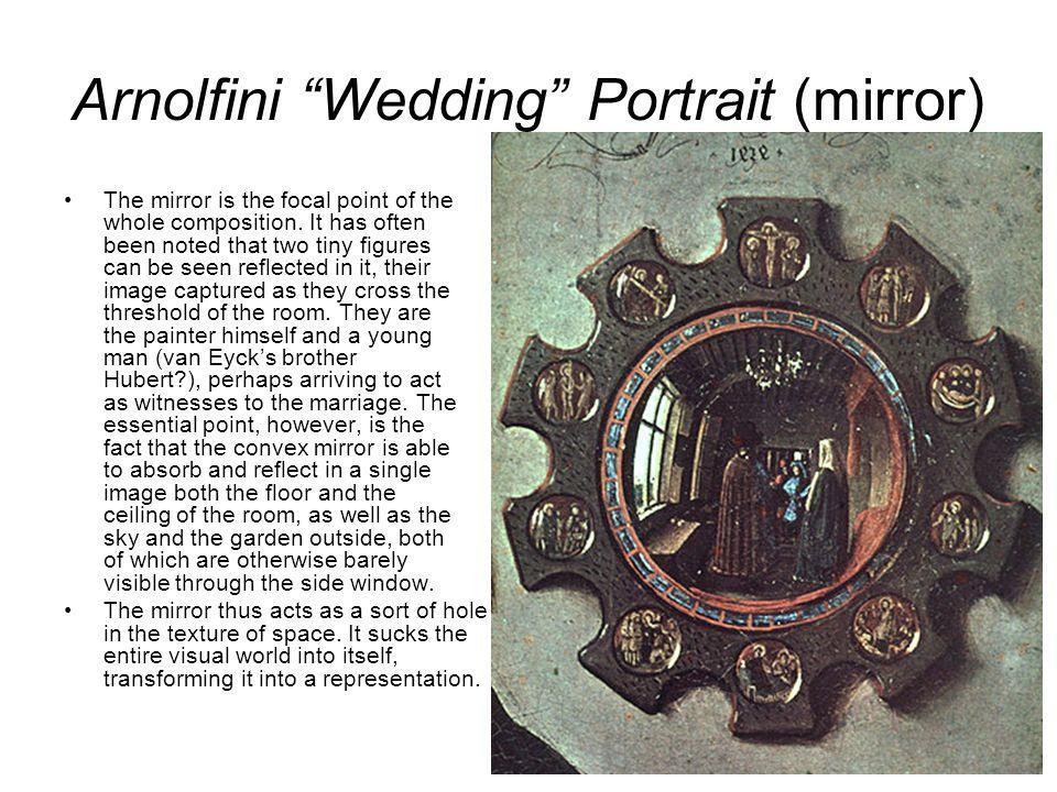 arnolfini wedding portrait analysis