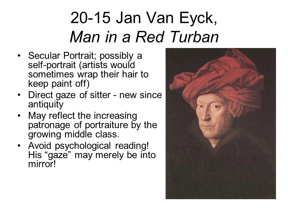 jan van eyck man with a red turban