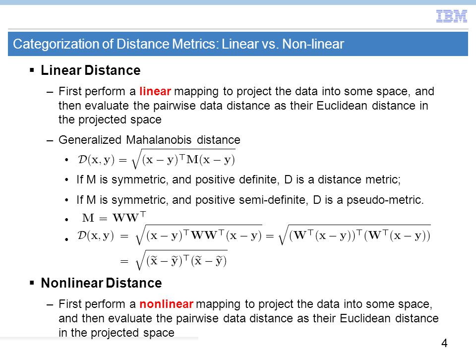 Distance Metric Learning in Data Mining - ppt video online