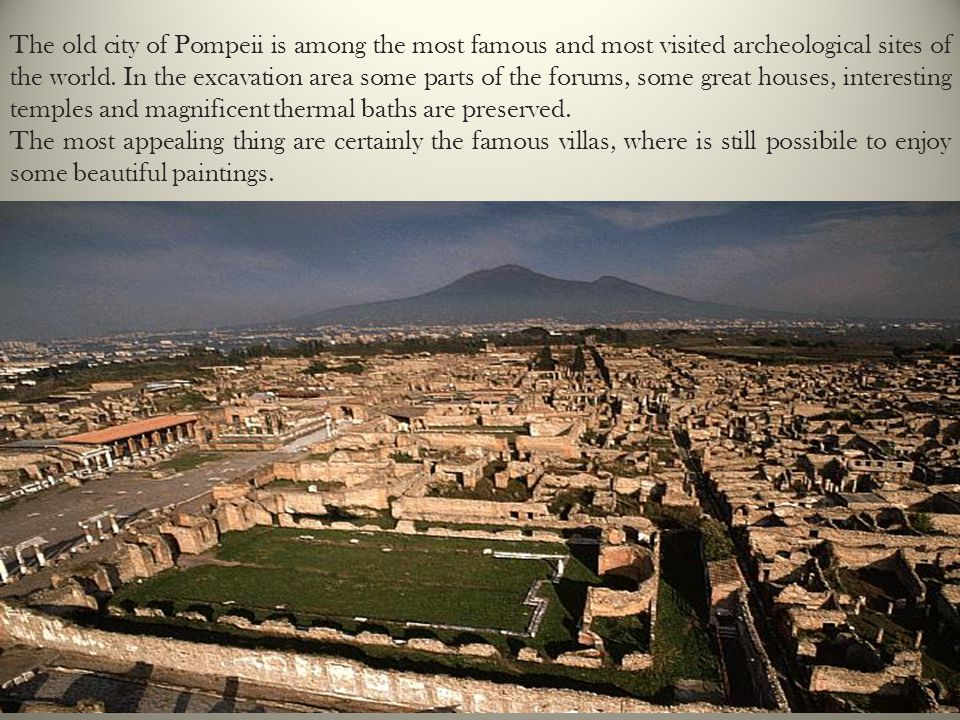 Pompeii: a newly discovered city - ppt download