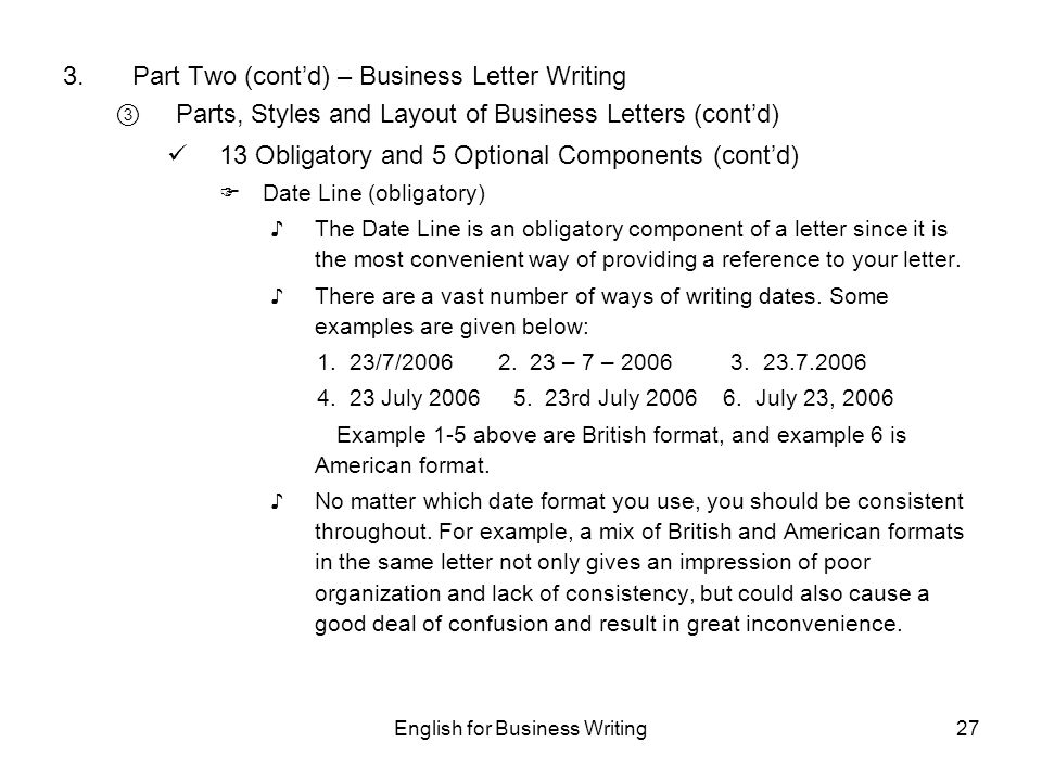 Format and layout of business letter choice image reference letter english for business writing ppt download spiritdancerdesigns Choice Image