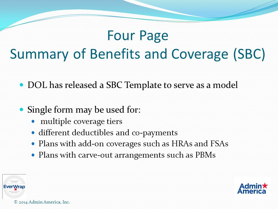 ERISA Compliance For Welfare Benefit Plans - ppt video online download