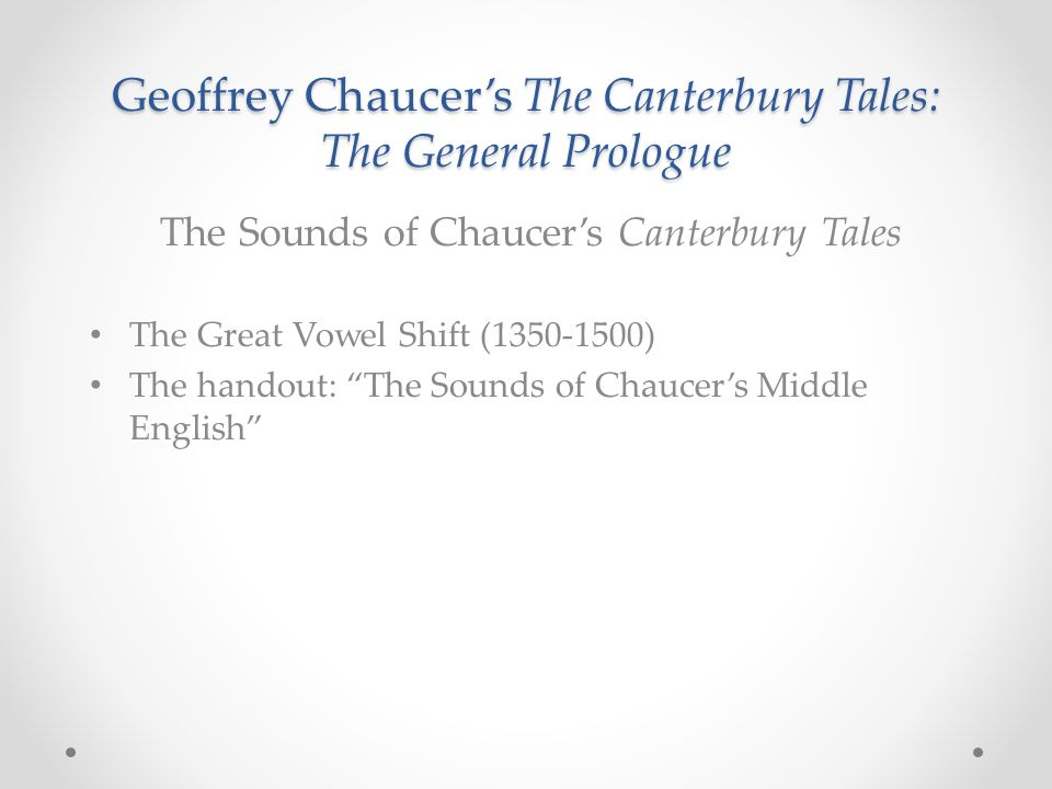 canterbury tales prologue middle english