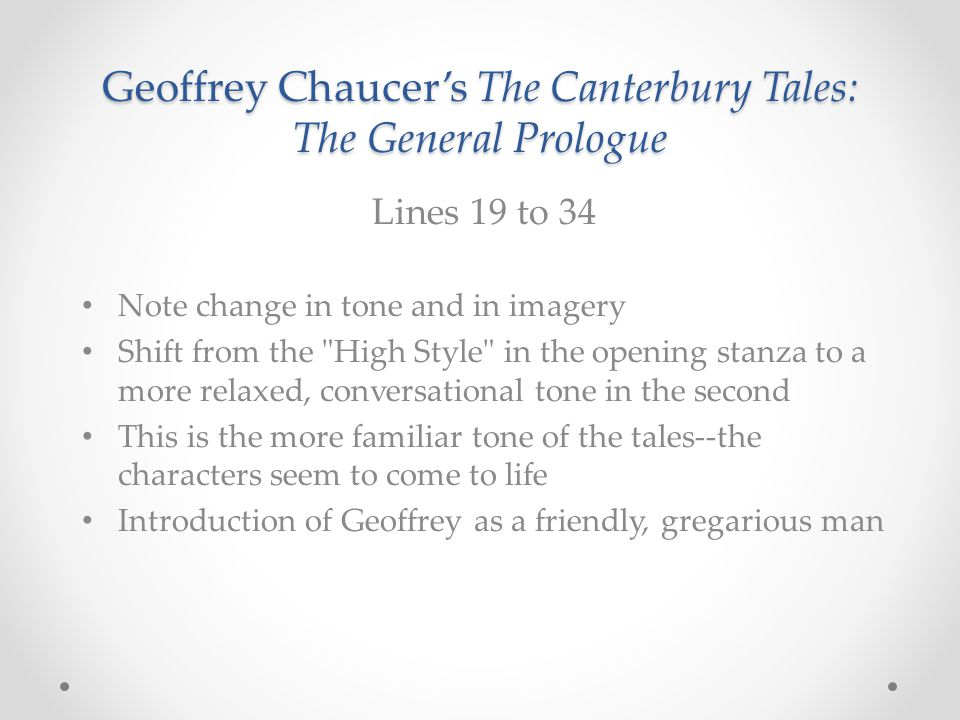 the array of characters portrayed by chaucer in the general prologue - the squire in the caterbury tales by geoffrey chaucer in the general prologue of the canterbury tales, the narrator, geoffrey chaucer, meets twenty nine pilgrims at the southwark at the tabard inn they are all going to canterbury cathedral to visit the shrine of sir thomas becket.