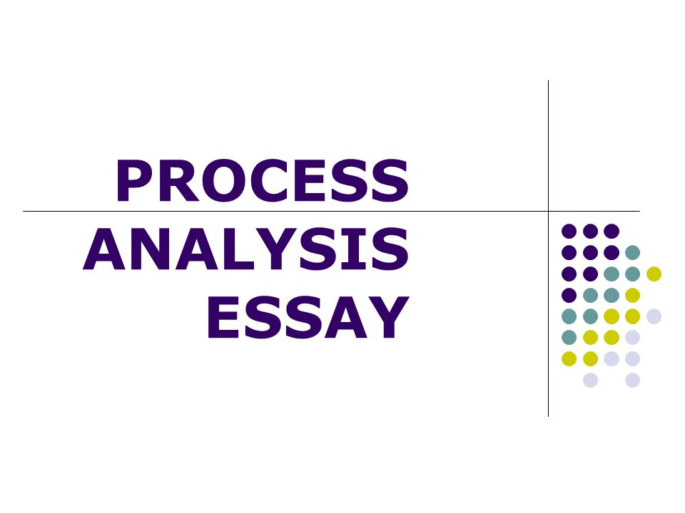 directional process analysis essay example