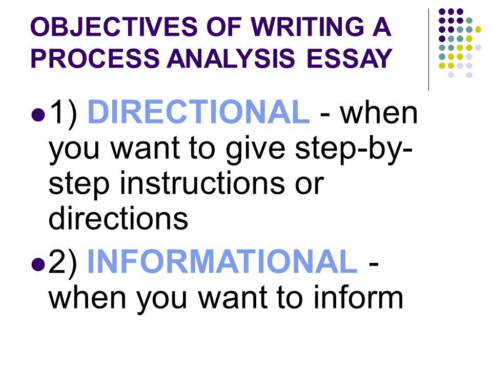 directional process analysis example