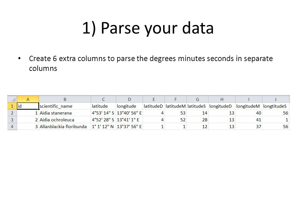 Convert coordinates into decimal degrees - ppt video online