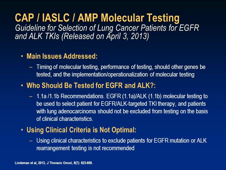 d8c310e2d67 49 CAP   IASLC   AMP Molecular Testing Guideline ...