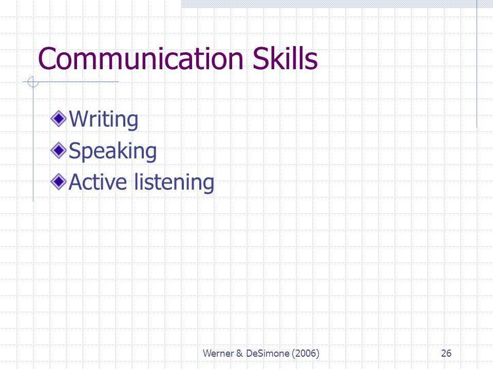 communication and writing skills pdf